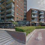 Een aantal willekeurige terrassen op het Havenhoofd (via: Google Streetview)