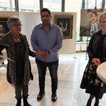 Expositie in het gemeentehuis van Barendrecht: surrealisme, portretten en abstracte werken