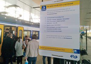 28 april - 6 mei: Beperkt of geen treinverkeer vanaf station Barendrecht
