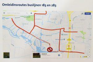 5 t/m 13 mei: Geen bussen over de Portlandse Baan, omleiding door Carnisselande