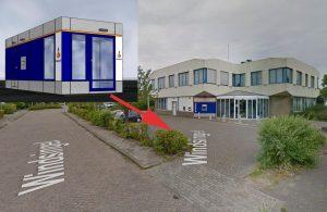 Rabobank plaatst nieuwe geldkiosk aan de Windsingel, ook tijdens en na nieuwbouw op de Rabobank locatie