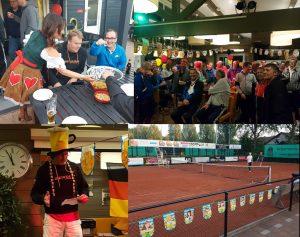 Succesvol Bier en Bratwurst toernooi bij Tennisvereniging Barendrecht