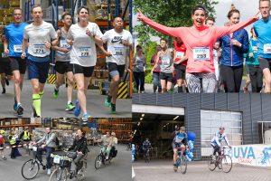 Hardlopen en fietsen voor het lokale goede doel tijdens de BUVA Classic