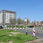 5-13 mei: Rotonde van Portlandse Baan week lang afgesloten voor auto's en bussen