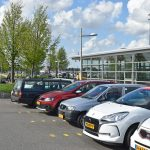 Parkeerdek spoortunnel station Barendrecht (Parkeerplaats treinstation)