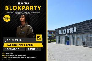 Vrijdag 1 juni: Optreden van Rapper Jacin Trill in BLOK0180