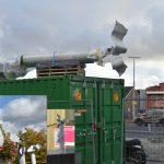 Kunstwerken op verzoek van Het Kruispunt toch niet bovenaan trap naar Middenbaan