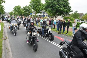 Deelnemers Hemelvaart Motorrit 2018 vertrokken