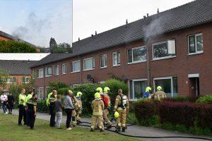 Woning aan de Linge vol zwarte rook door keukenbrand