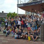'Handen uit de Mouwen-dag' door groep 8 leerlingen uit Barendrecht