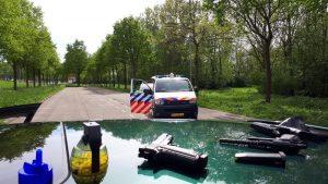 Politie rukt uit voor nepwapens, 19-jarige man uit Barendrecht aangehouden