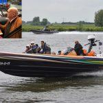 Varen voor Zeldzaam Zieke Kinderen: Supersnelle RIB boten varen over de Oude Maas