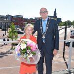 Anaïs Swirc (10) benoemd tot kinderburgemeester van Barendrecht