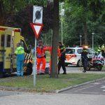 Scooterrijder gewond bij eenzijdig ongeval op fietspad 2e Barendrechtseweg