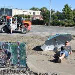 Beach handbal weekend bij Savosa op sportveld achter Aksent