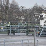 Gasverdeelstation vand e NAM in de Zuidpolder thv de Ziedewijdsedijk