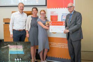 Sophie van Es van de Rehobôthschool wint landelijke fotowedstrijd Veteranendag