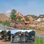 Van der Jagt garage aan de Lindehoevelaan gesloopt: plaats maken voor 'Het Nieuwe Jagthuys'
