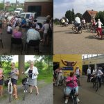 Lions Fietstocht: Veel fietsers geïnteresseerd in waterbeheersing op IJsselmonde