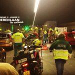 Heinenoordtunnel volledig afgesloten door ongeval tussen meerdere voertuigen