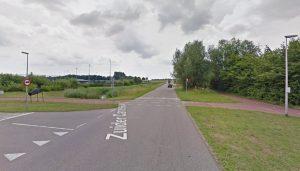 Oversteek naar Sportpark de Doorbaak op de Zuider Carnisseweg (via: Google Streetview)