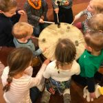 Gratis workshop 'Muziek op schoot' voor kinderen van 1 t/m 3 jaar