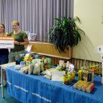 Afgevallen gewicht in kilo's als eten gedoneerd aan Voedselbank Barendrecht