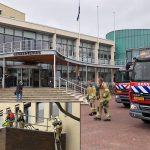 Brandmelding in gemeentehuis veroorzaakt door werkzaamheden van dakdekkers