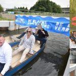 Blauwe Verbinding officieel geopend: In de kano van Barendrecht naar Rotterdam