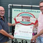 Picknick in 't Park schenkt €1.250 aan Stichting Altijd Feest
