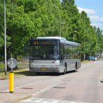 RET bus 84 op de Cellolaan in Barendrecht