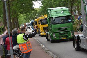 Truckrun Barendrecht 2017 op de Hoefslag in Barendrecht