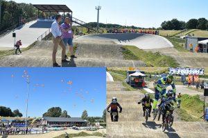 Nieuwe BMX baan van Fietscrossclub Barendrecht officieel geopend