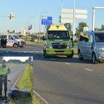 Scooterrijder gewond bij aanrijding met bestelbusje op de Kilweg