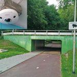 Permanent 360° cameratoezicht in tunneltje Park Buitenoord na herhaaldelijk vandalisme