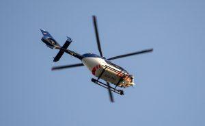Politiehelikopter (Foto van de politieheli door: S. Smol (Ingezonden))