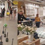 Vernieuwde accessoires afdeling IKEA Barendrecht: Wedstrijdje toiletborstels kegelen, hotdogs eten en bedden opmaken
