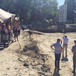Eerste paal geslagen van nieuwbouwproject 'Het Nieuwe Jagthuys' aan de Lindehoevelaan