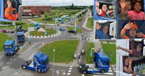 FOTO'S + VIDEO: Truckrun Barendrecht 2019