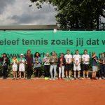 Succesvol Sports Team Tennis Open Jeugdtoernooi bij TV Barendrecht