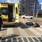 Scooterrijder gewond bij aanrijding Zuidersingel