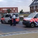 Drie mannen door politie van bouwplaats gehaald aan de Derde Barendrechtseweg in Barendrecht