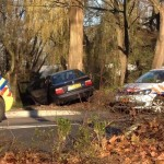Aanrijdingen en auto van de weg op 'gladde dag' in Barendrecht