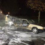 Auto uitgebrand op parkeerplaats Vrijenburgerbos