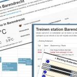 Nieuw op BarendrechtNU: Agenda, Weer, Treininfo en Live Facebook