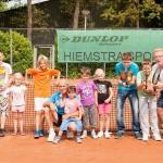 Tennisvereniging Barendrecht geeft tennisclinics aan BSO Villa Oranje