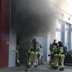 Brand in bedrijfspand aan de Zwolseweg in Barendrecht