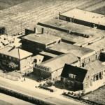 1948: Beschuitfabriek Hooimeijer aan de 3e Barendrechtseweg in beeld