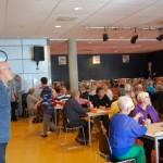 Jan Groeneveld bridge toernooi in aula van Dalton Lyceum Barendrecht