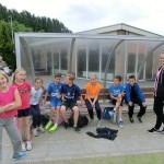 Calvijnleerlingen helpen bij sportdag van De Groen van Prinsterer in Barendrecht